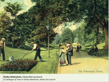 Edwardian park keepers
