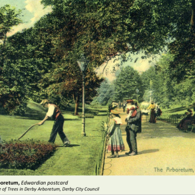 Edwardian park keepers
